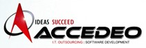 Accedeo IT and Business Process Outsourcing business logo