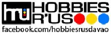Hobbies R Us Davao business logo