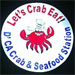 Let's Eat Crab business logo