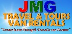 JMG Travel and Tours business logo