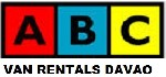 ABC Van Rentals Davao business logo